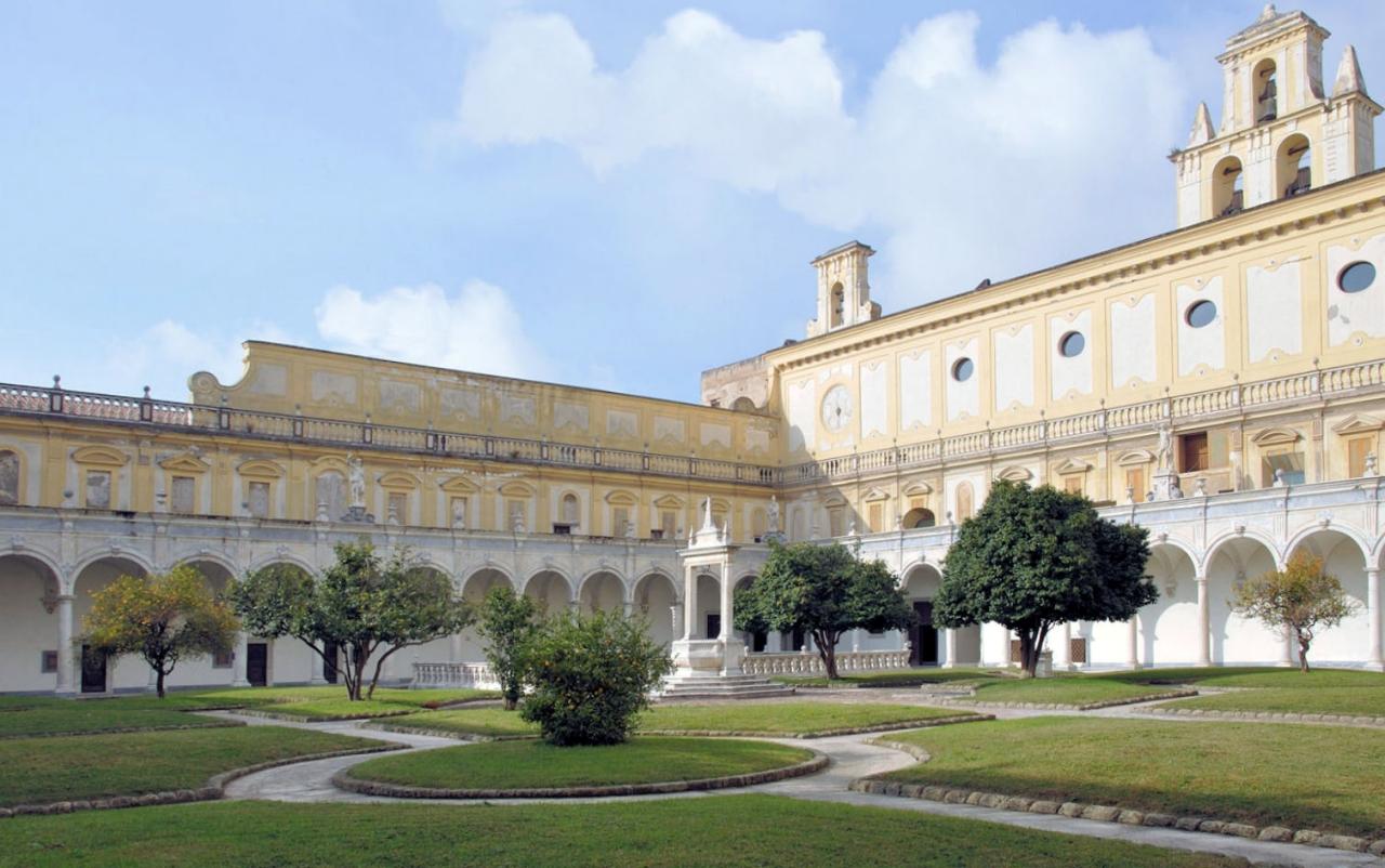 Campania crbc certosa di s martino - Giardini dell acropoli arpino ...