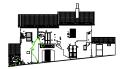 -Casa rurale (prospetto) - Gioia Sannitica (CE)